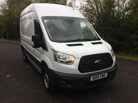 2014 (14) Ford Transit 2.2TDCi 350 L3H3 LWB New Shape Clean Van 1 Owner