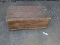 blanket box (Old/Rough) As Is