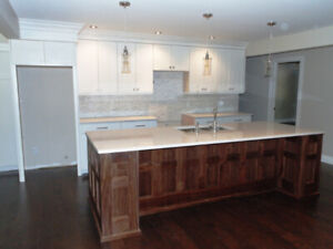 kitchen cabinets, Custom made