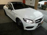 2016 Mercedes-Benz C Class 3.0 AMG C 43 PREMIUM PLUS 4MATIC COUPE AUTO HIGH SPEC