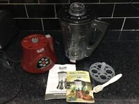 JDW All In One Soup Maker - Used once - Perfect for winter!