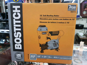 Bostitch BULLDOG 1 3/4-in Pneumatic Coil Roofing Nailer