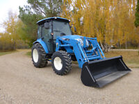 Used 2015 50HP XR4150 LS tractor with loader