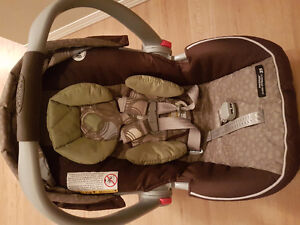 Graco carseat with base