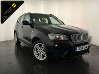 2014 BMW X3 XDRIVE 30D M SPORT AUTO DIESEL 1 OWNER SERVICE HISTORY FINANCE PX