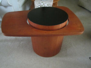 Teak Coffee Table and End Table