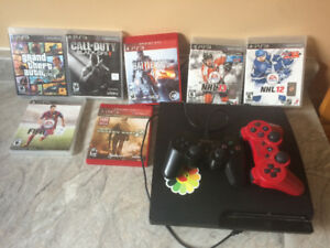 PS3 with Games!!