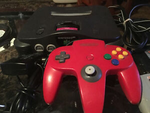 N64 and 9 games
