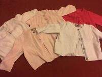 Baby cardigans 3-6 months