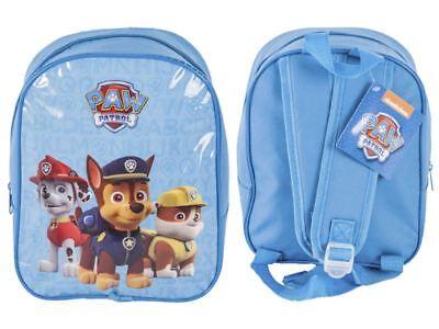 Paw Patrol Kids Boys Junior Mini Nursery Backpack Travel School Rucksack Toys