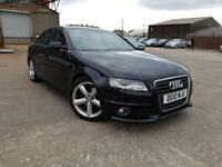 AUDI A4 2.0 TDI S LINE AUTOMATIC,HPI CLEAR,1 OWNER,SAT NAV,LEATHER,6 AUDI SERVICES INCLUDING CAMBELT