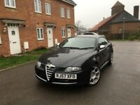 ALFA ROMEO GT BLACKLINE 1.9 JTDm DIESEL - 6 SPEED - FULL SERVICE HISTORY -FREE DELIVERY -P/X WELCOME