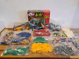 Bundle of Various K'Nex Shapes 1.2kg & Sea Beast Model