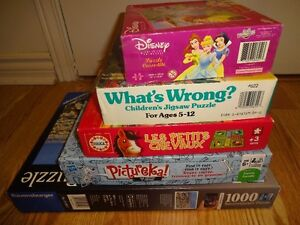 Board Games & Puzzles (see list) West Island Greater Montréal image 1