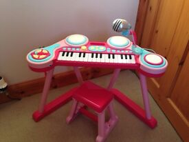 ELC Key-Boom-Board - pink - £15 ono