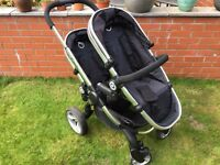 iCandy Peach Blossom 2 inc. converter kit, lower carrycot & extras. Smoke-free home, good condition.