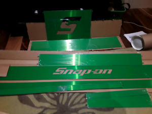 Plasma green, Snap on tool box trim kit