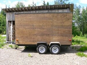 Newly built enclosed trailer 7X12
