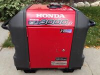 ~HONDA EU3000IS COLD CLIMATE INVERTER GENERATOR w/ELECTRIC START