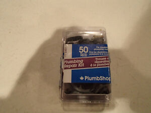 NEW PlumbShop PS2301 50 pcs Plumbing Repair Kit. Seats, washers,