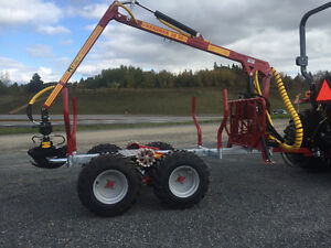 Log loader and Trailers for compact tractors $156.00/M and up St. John's Newfoundland image 14