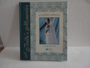 A BRIDE'S MEMORIES KEEPSAKE BOOK SHARING PRECIOUS MOMENTS London Ontario image 5