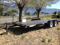 2016 Rainbow 18ft Car / Equipment Trailer easy load. 99000GVW