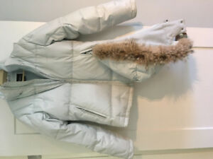 Women's down filled jacket