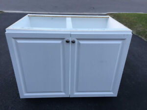 Brand New Laundry  Base Cabinet with Countertop