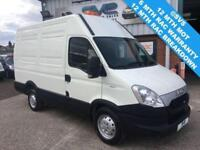 2013 62 IVECO DAILY 35S11 110BHP MWB HIGH ROOF WITH LOW MILES, VERY CLEAN VAN!