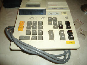 **CANNON CALCULATOR WITH TAPE**