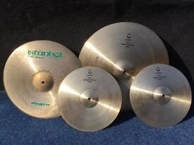 Istanbul Mehmet Cymbal Set and case