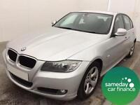 £172.89 PER MONTH SILVER 2011 BMW 320 2.0 EFFICIENTDYNAMICS 4 DOOR DIESEL MANUAL