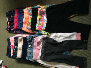 Various sizes in pants