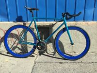 Fixie Fixed Gear Velo Bike Bicyclette Bicycle Track