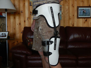 Fully Adjustable Left Hip Brace For Hip Recovery