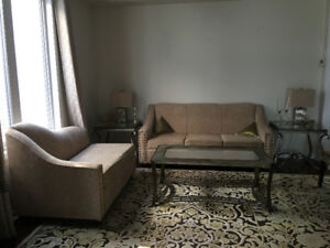 Beautiful sofa - 3 seater and a love seat