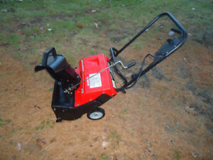 MURRAY 20 INCH SNOWBLOWER ELECTRIC lots of power