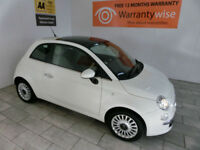 2011,Fiat 500 1.2 ( 69bhp ) Dualogic LOUNGE***BUY FOR ONLY £26 PER WEEK***