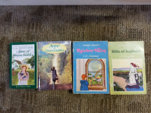 Collection of Anne if Green Gables Books