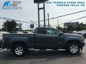 "2015 GMC Canyon SLE  3.6L,REMOTE START,REARCAM,17""ALLOYS,8""DISPL"