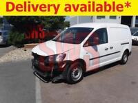 2015 Volkswagen Caddy C20 Startline TDi 1.6 DAMAGED REPAIRABLE SALVAGE