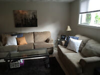 Spacious and bright one bedroom basement apartment.