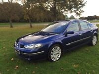 2006 renault laguna dynamique 88 k miles petrol immaculate *WARRANTY* not focus,mondeo,bmw,vectra,a3