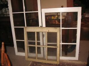 OLD WOOD WINDOWS :$ WANTED TO BUY*$3.00-&UP PER PANE