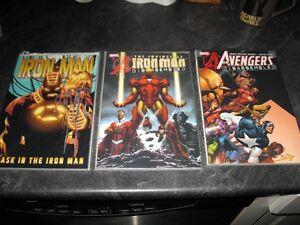 3 Big Comic Books