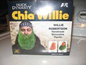 BRAND-NEW DUCK DYNASTY CHIA WILLIE GREAT GIFT IDEA.