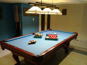 Brunswick Contender Billiard Table