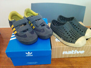 Souliers pour enfant - Shoes for toddlers (adidas, native, ...)
