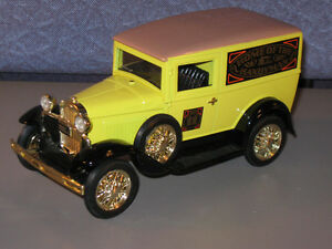 1931 Ford Model A 1:25 Scale diecast Panel Truck Coin Bank